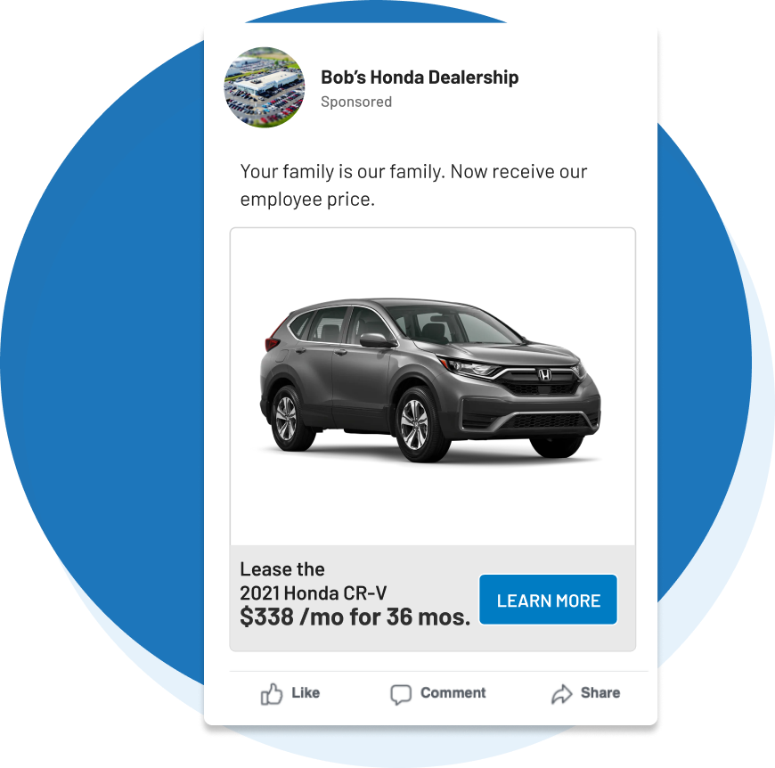 Publish and maintain ads at any scale.
