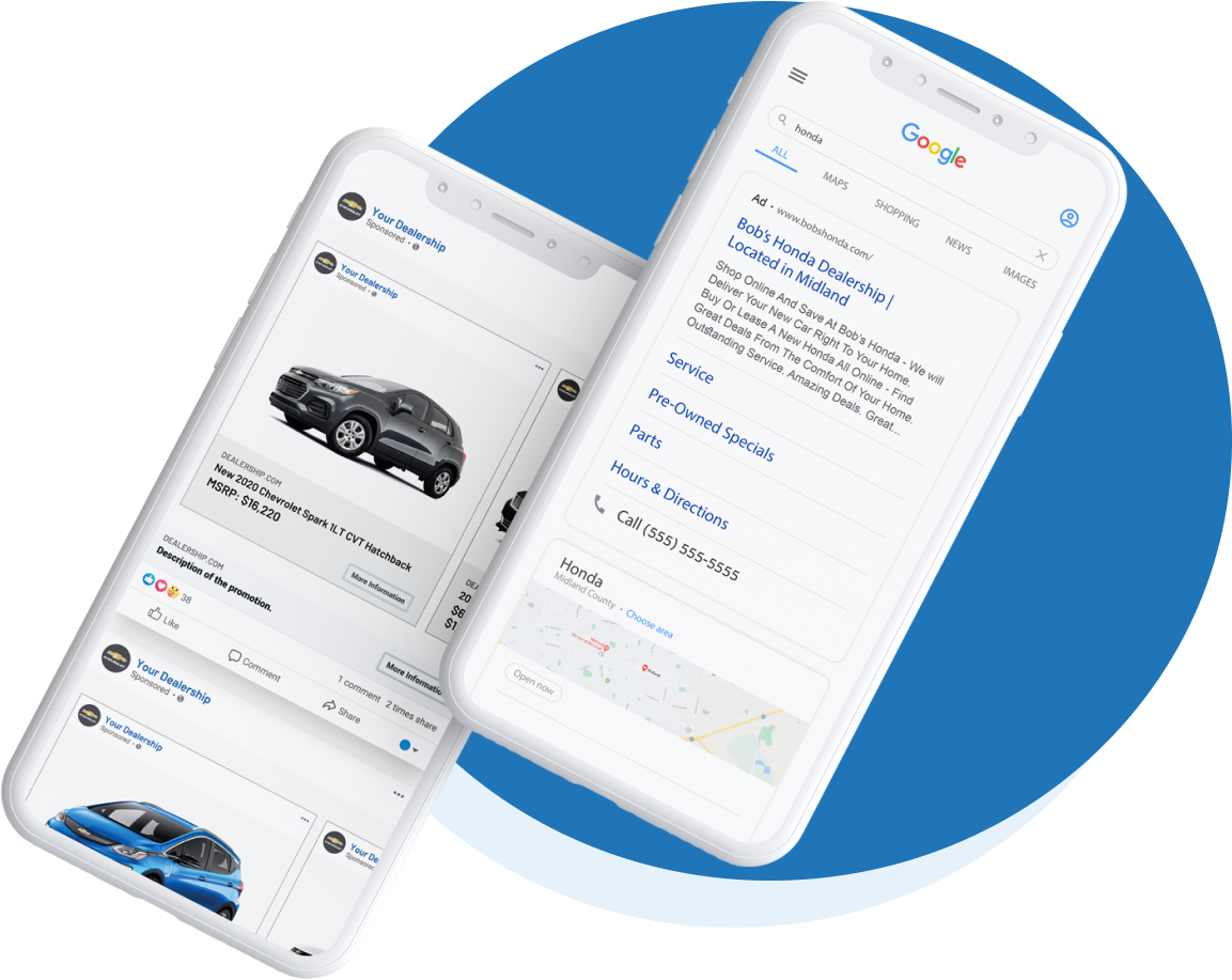 Advertise where it matters with our automotive digital advertising technology