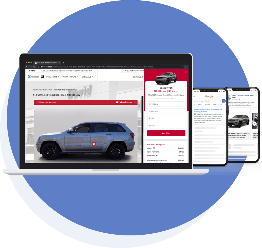 Streamline ads and landing pages with the same message, instantly